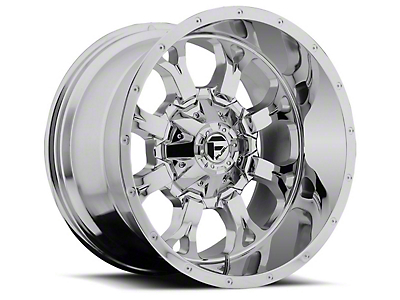 Fuel Wheels Krank Chrome 5-Lug Wheel - 20x12 (02-18 RAM 1500, Excluding Mega Cab)