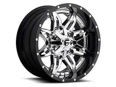 Fuel Wheels Lethal Chrome 5-Lug Wheel - 22x14 (02-18 RAM 1500, Excluding Mega Cab)