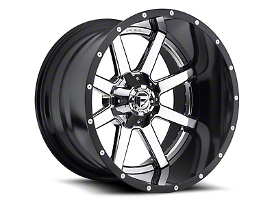 Fuel Wheels Maverick Chrome 5-Lug Wheel - 22x14 (02-18 RAM 1500, Excluding Mega Cab)