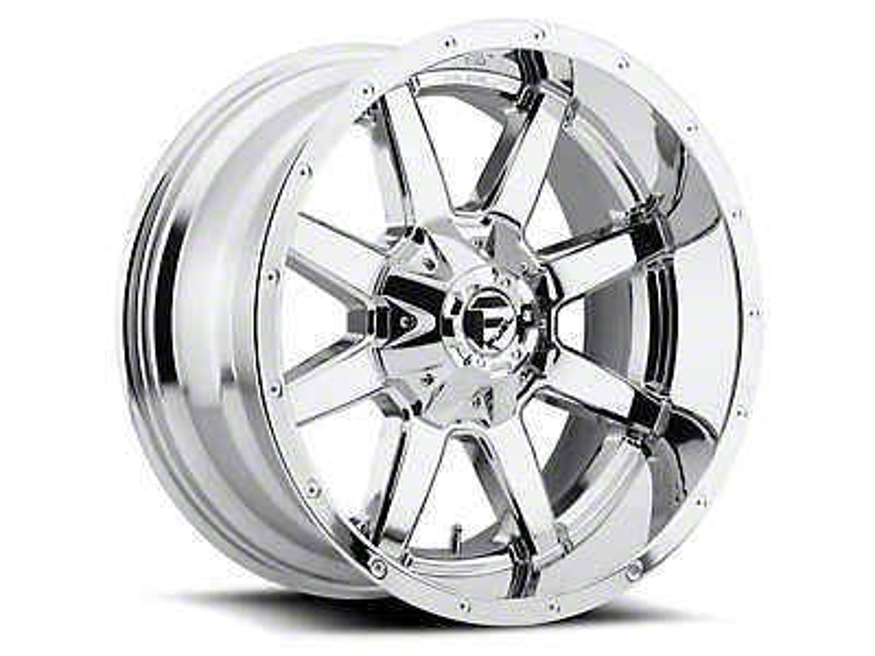 Fuel Wheels Maverick Chrome 5-Lug Wheel - 22x9.5 (02-18 RAM 1500, Excluding Mega Cab)