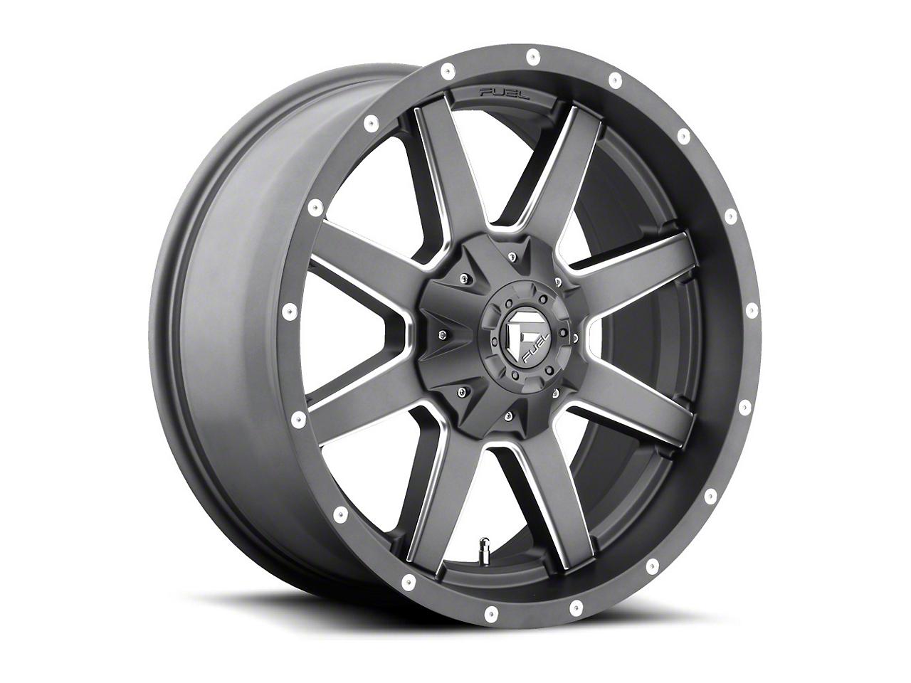 Fuel Wheels Maverick Gun Metal 5-Lug Wheel - 20x10 (02-18 RAM 1500, Excluding Mega Cab)
