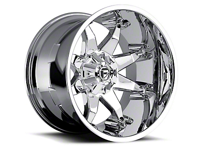 Fuel Wheels Octane Chrome 5-Lug Wheel - 22x10 (02-18 RAM 1500, Excluding Mega Cab)