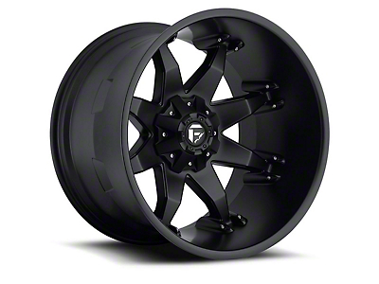 Fuel Wheels Octane Matte Black 5-Lug Wheel - 20x12 (02-18 RAM 1500, Excluding Mega Cab)