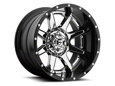 Fuel Wheels Rampage Chrome 5-Lug Wheel - 22x10 (02-18 RAM 1500, Excluding Mega Cab)