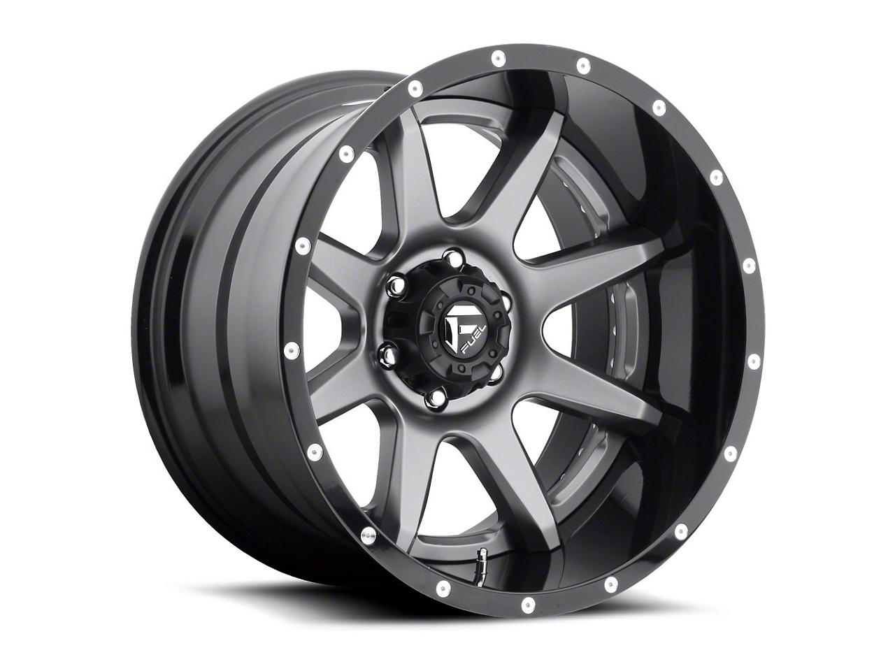 Fuel Wheels Rampage Gun Metal 5-Lug Wheel - 22x12 (02-18 RAM 1500, Excluding Mega Cab)