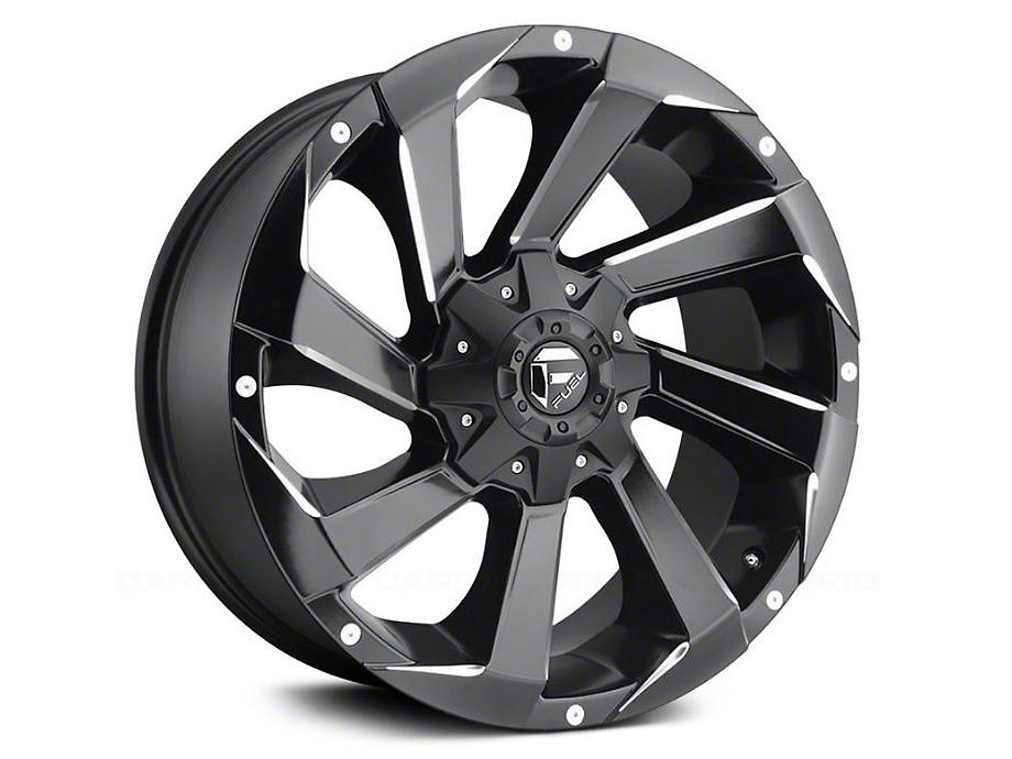 Fuel Wheels Razor Matte Black Milled 5-Lug Wheel - 17x9 (02-18 RAM 1500, Excluding Mega Cab)