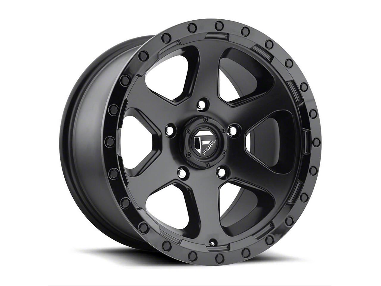 Fuel Wheels Ripper Gloss Black Milled 5-Lug Wheel - 18x9 (02-18 RAM 1500, Excluding Mega Cab)