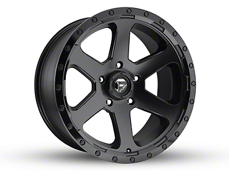 Fuel Wheels Ripper Matte Black 5-Lug Wheel - 20x9 (02-18 RAM 1500, Excluding Mega Cab)