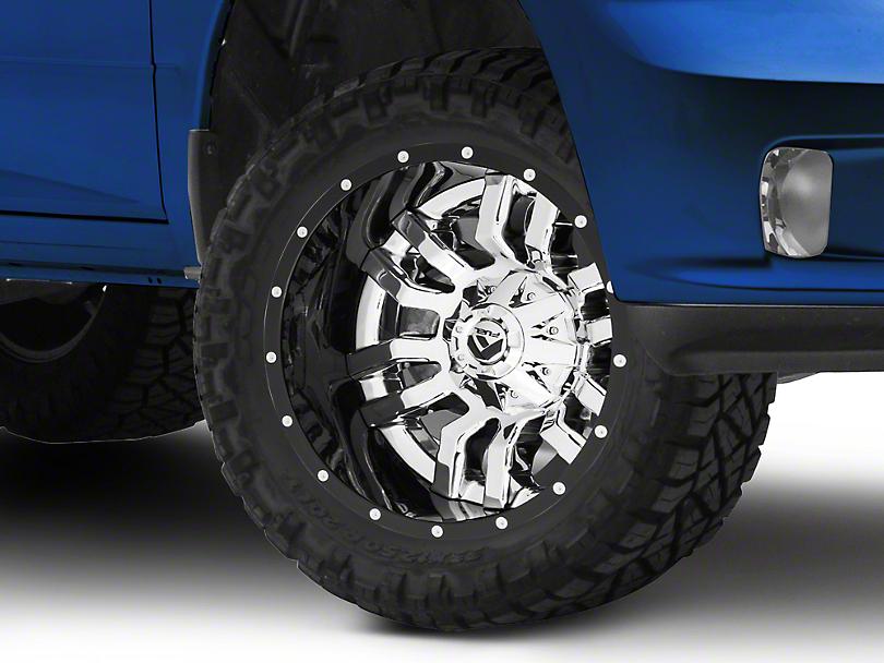 Fuel Wheels Sledge Chrome 5-Lug Wheel - 20x10 -18mm Offset (02-18 RAM 1500, Excluding Mega Cab)