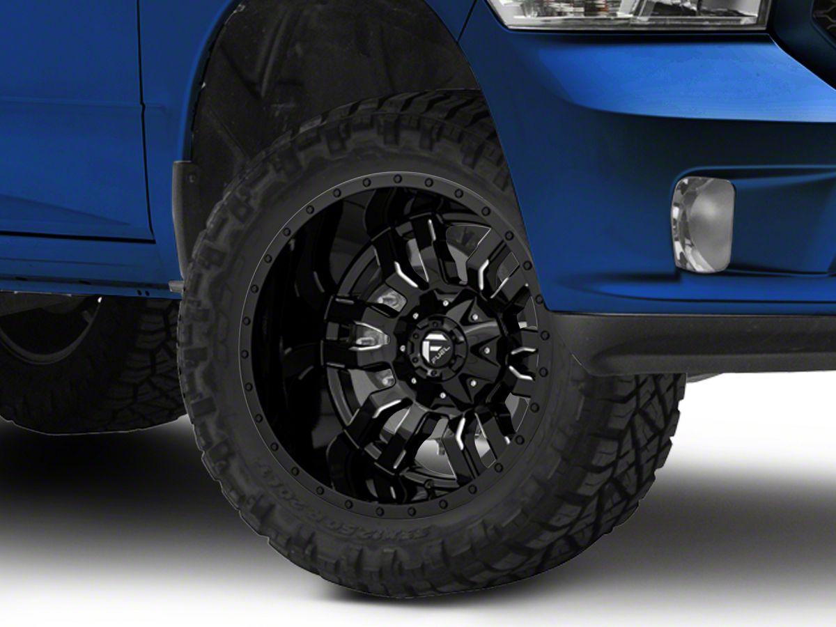 Ram 1500 Lug Pattern >> Fuel Wheels Sledge Gloss Black Milled 5 Lug Wheel 20x12 44mm Offset 09 18 Ram 1500