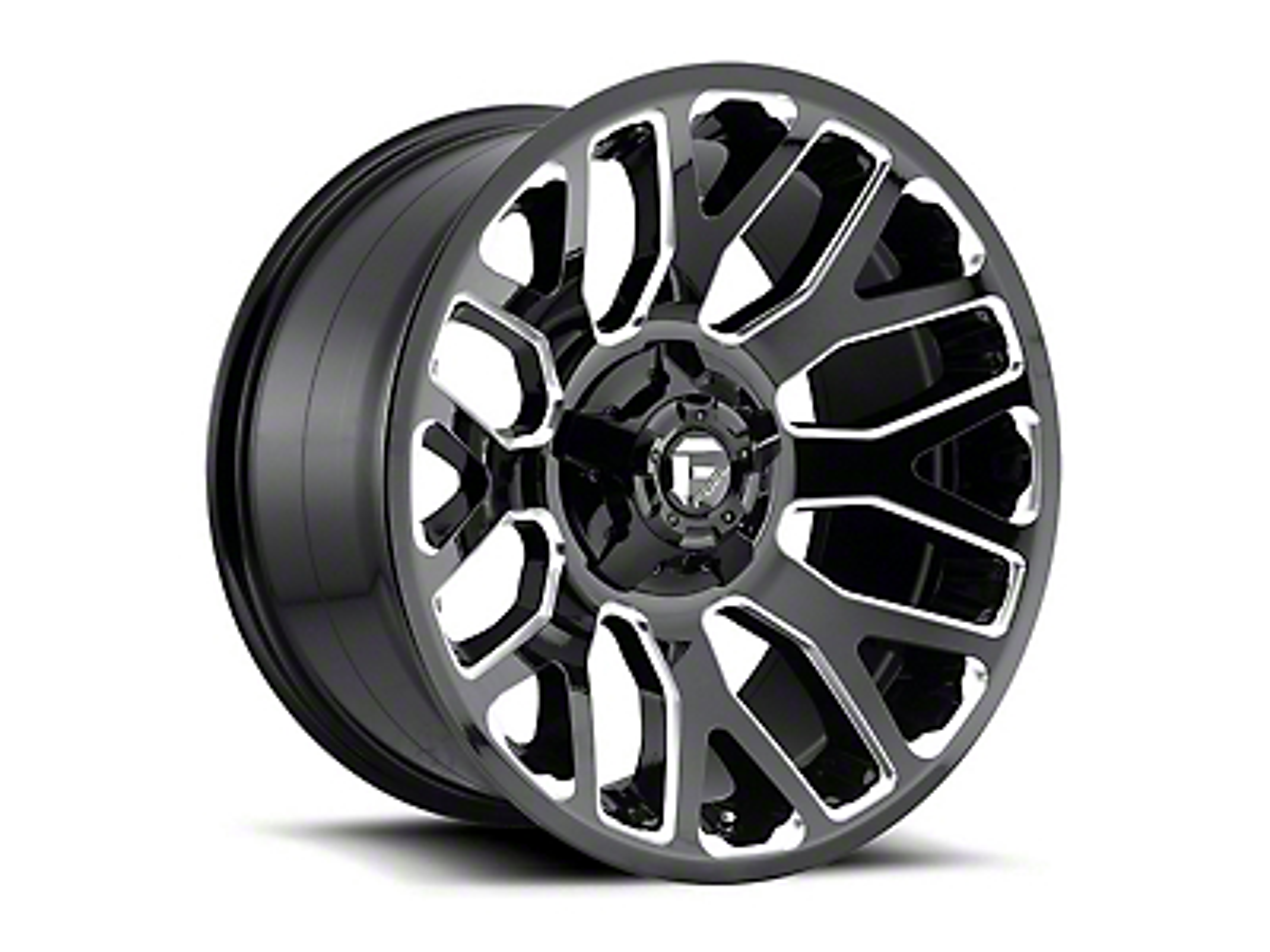 Fuel Wheels Titan II Gloss Black Milled 5-Lug Wheel - 20x10 (02-18 RAM 1500, Excluding Mega Cab)