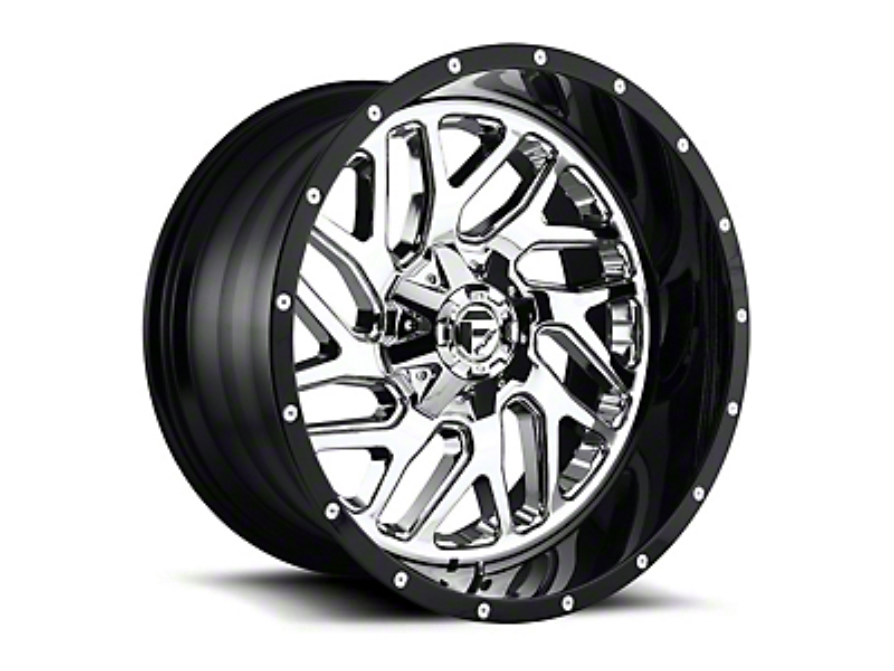 Fuel Wheels Triton Chrome 5-Lug Wheel - 20x10 (02-18 RAM 1500, Excluding Mega Cab)