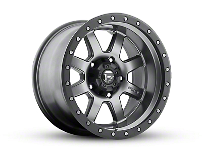 Fuel Wheels Trophy Gun Metal 5-Lug Wheel - 18x10 (02-18 RAM 1500, Excluding Mega Cab)