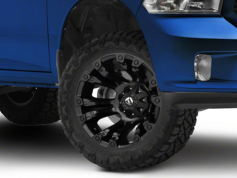 Fuel Wheels Vapor Matte Black 5-Lug Wheel - 20x12 (02-18 RAM 1500, Excluding Mega Cab)
