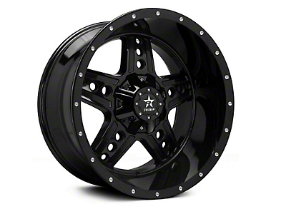 RBP 90R Colt Gloss Black 5-Lug Wheel - 20x9 (02-18 RAM 1500, Excluding Mega Cab)