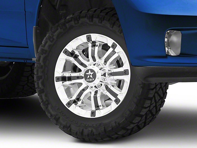 RBP 94R Chrome w/ Black Inserts 5-Lug Wheel - 17x9 (02-18 RAM 1500, Excluding Mega Cab)