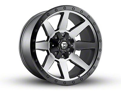 Fuel Wheels Wildcat Gun Metal 5-Lug Wheel - 20x10 (02-18 RAM 1500, Excluding Mega Cab)