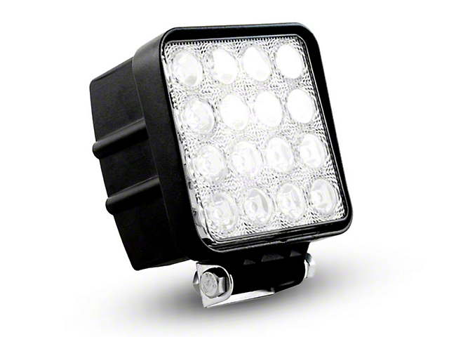 Oracle 4.5 in. Off-Road Series 48W Square LED Light - Spot Beam