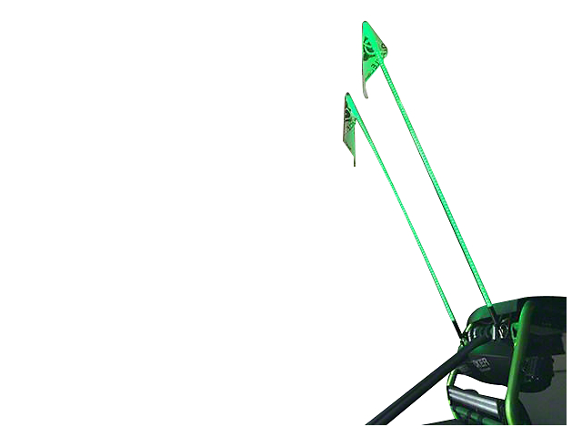 Oracle Off-Road 4 ft. LED Whip - Green (Universal Fitment)