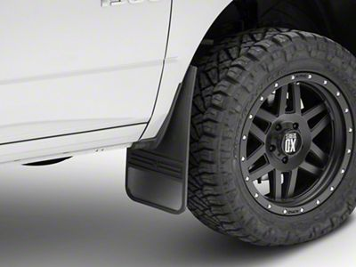 Husky MudDog Front Mud Flaps w/ Stainless Steel Weight (02-19 RAM 1500)