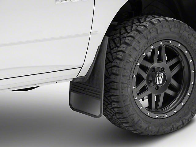 Husky MudDog Front Mud Flaps w/ Stainless Steel Weight (02-19 RAM 1500)