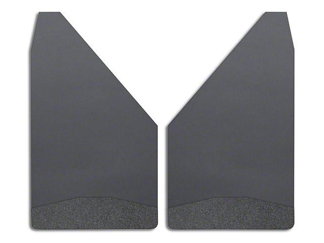 Husky 12 in. Wide Mud Flaps - Black Weight (02-19 RAM 1500)