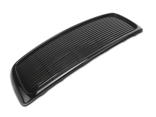 Upper Replacement Grille; Black (02-05 RAM 1500)