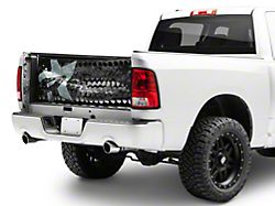 RBP Honeycomb Tailgate Net; Gray Star (Universal; Some Adaptation May Be Required)