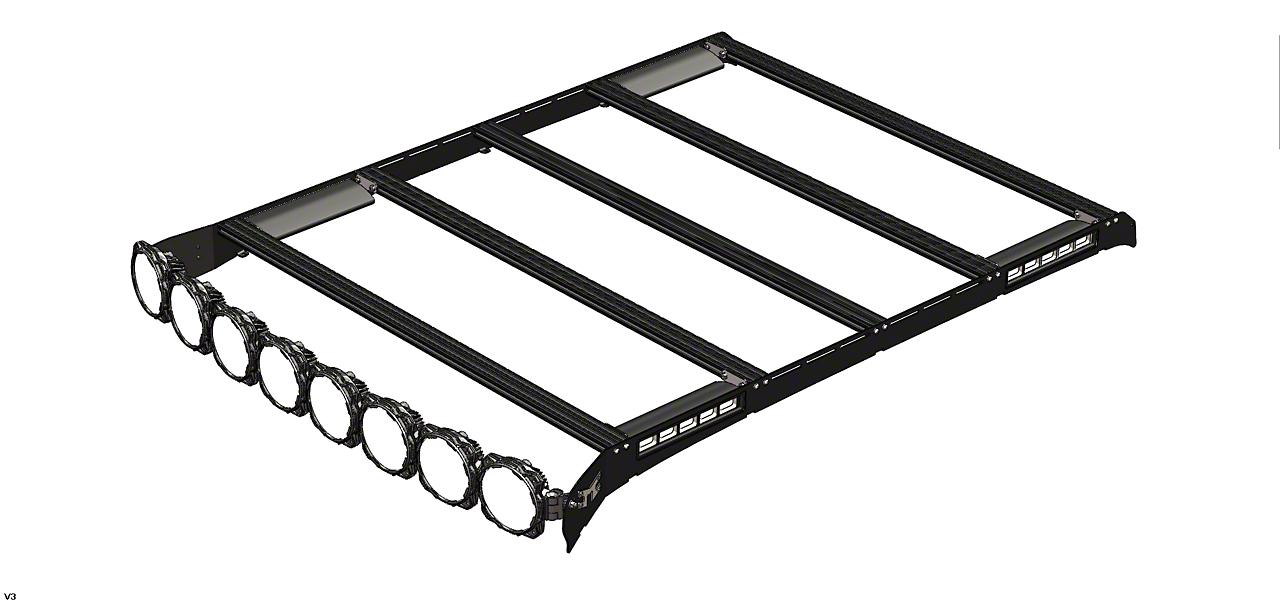KC HiLiTES M-Racks 50 in. Gravity Pro6 Roof Rack (09-18 RAM 1500)