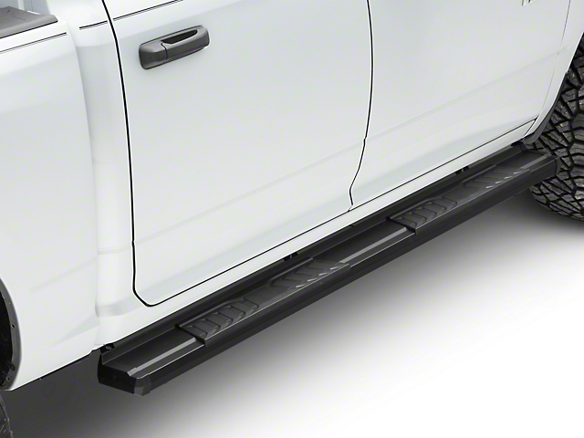 Duratrek S6 Running Boards - Black (09-18 RAM 1500 Quad Cab, Crew Cab)