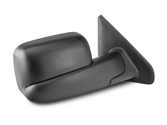OPR Powered Heated Foldaway Flip-Up Towing Mirror - Textured Black (02-05 RAM 1500)