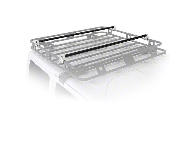 Smittybilt Defender Roof Rack Crossbar Bracket Kit (02-19 RAM 1500)