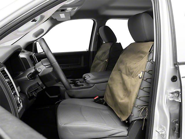 Smittybilt G.E.A.R. Front Seat Covers - O.D. Green (02-19 RAM 1500)