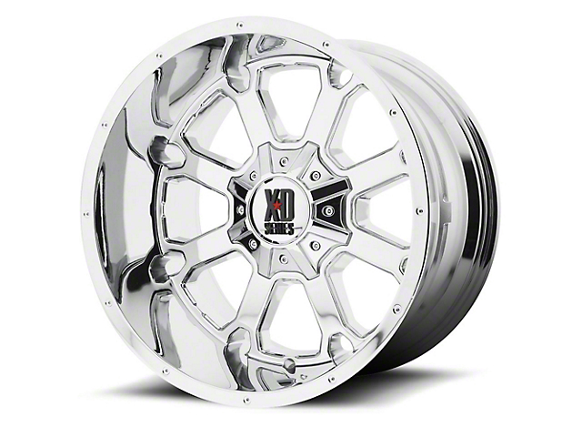 XD Buck 25 Chrome 5-Lug Wheel; 20x12 -44mm Offset (02-18 RAM 1500, Excluding Mega Cab)