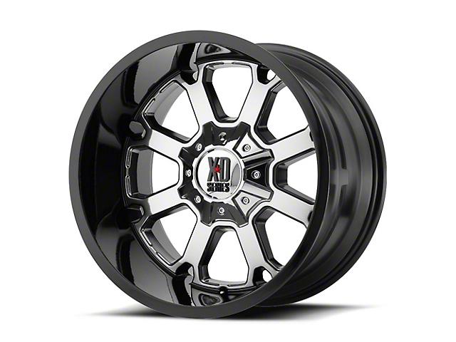XD Buck 25 PVD w/ Gloss Black Lip 5-Lug Wheel; 20x12 (02-18 RAM 1500, Excluding Mega Cab)