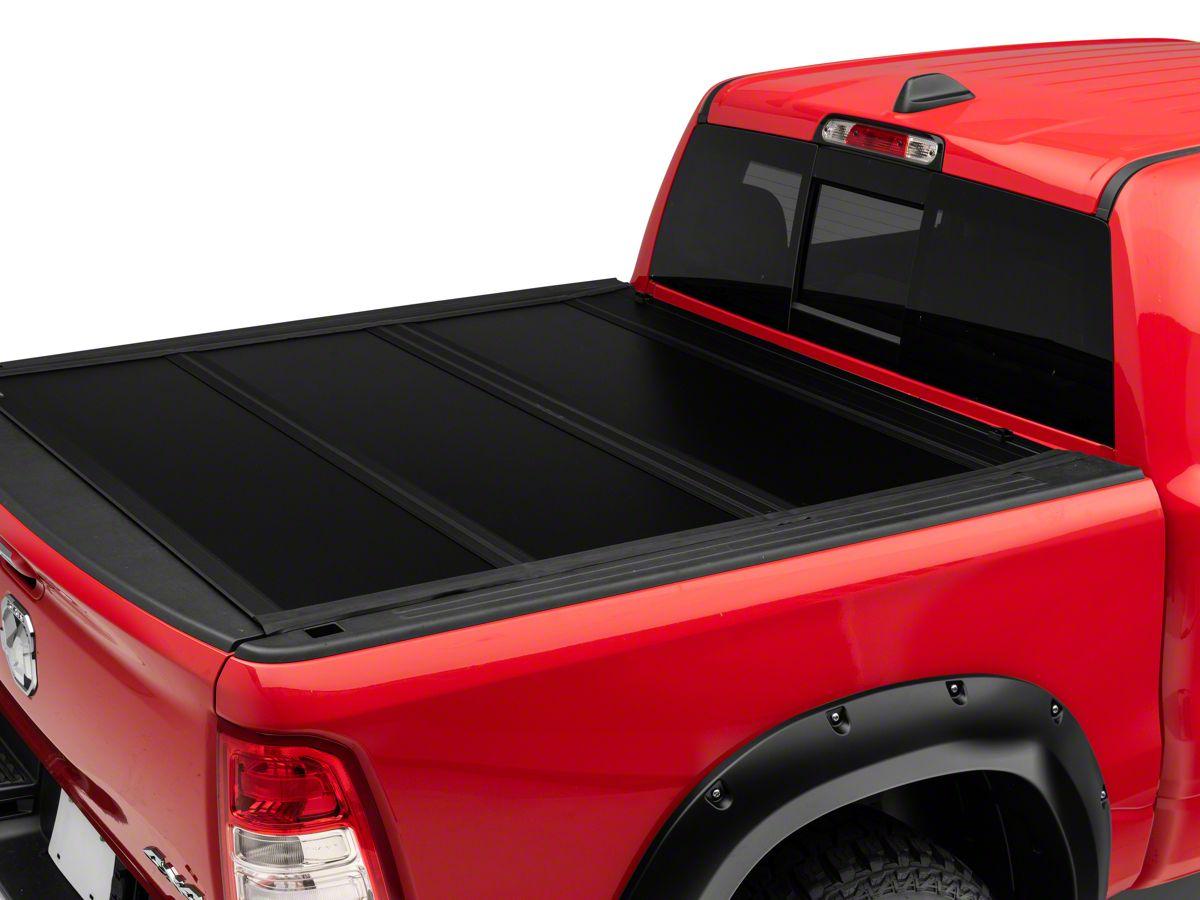 Undercover Ram 1500 Ultra Flex Tri Fold Tonneau Cover Black Textured R107659 19 21 Ram 1500 W O Multifunction Tailgate