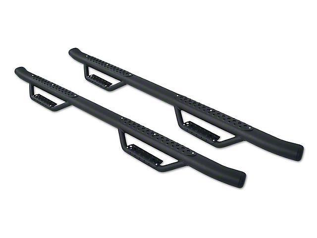 Go Rhino Dominator D4 Cab Length Side Step Bars - Textured Black (09-18 RAM 1500 Crew Cab)
