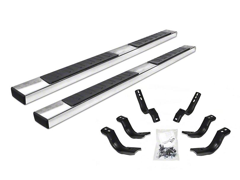 Go Rhino 6 in. OE Xtreme II Side Step Bars - Stainless Steel (02-08 RAM 1500 Quad Cab)