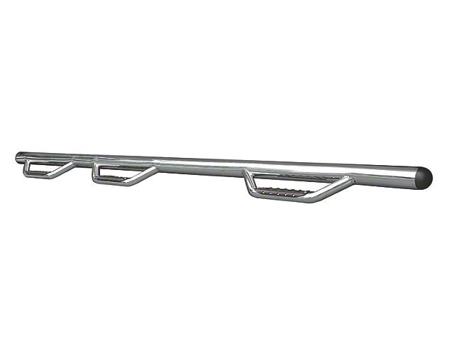 Go Rhino Dominator D3-1 Piece Wheel to Wheel Side Step Bars - Stainless Steel (02-08 RAM 1500 Quad Cab)