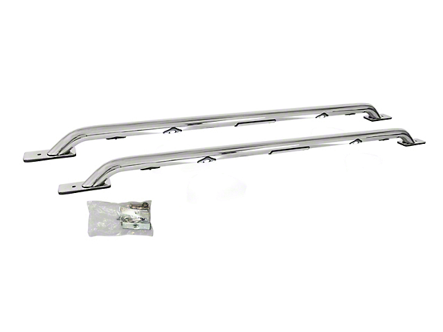 Go Rhino LED Bed Rails - Polished (06-18 RAM 1500 w/ 6.4 ft. Box)