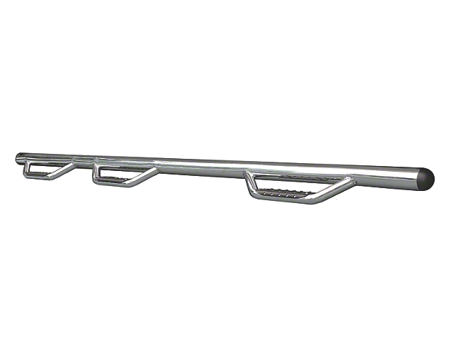 Go Rhino Dominator D3-1 Piece Wheel to Wheel Side Step Bars - Stainless Steel (06-08 RAM 1500 Mega Cab)