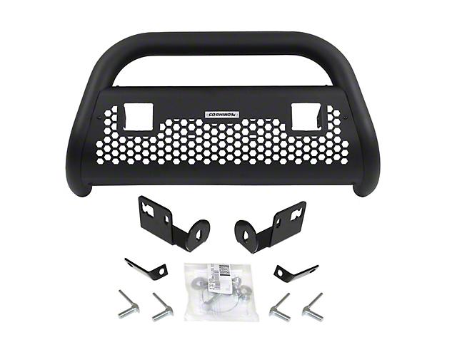Go Rhino RC2 LR Bull Bar w/ Two LED Cube Light Mounting Brackets - Textured Black (06-08 RAM 1500)