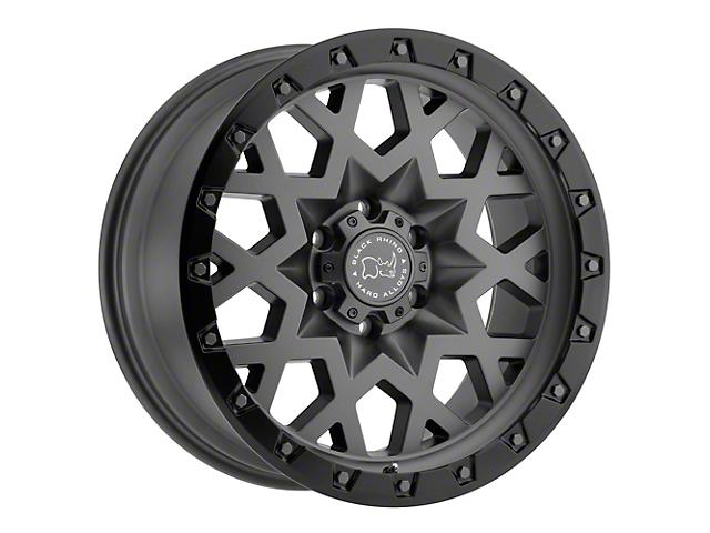 Black Rhino Sprocket Matte Gunmetal with Gloss Black Face 5-Lug Wheel; 20x9.5; 0mm Offset (09-18 RAM 1500)