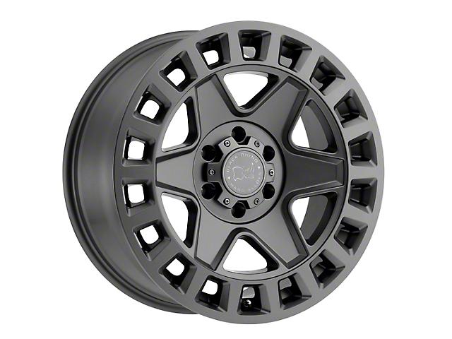 Black Rhino York Matte Gunmetal 5-Lug Wheel; 17x9; 0mm Offset (09-18 RAM 1500)