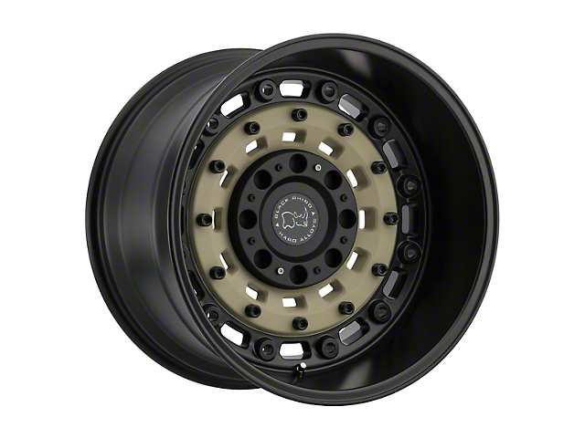 Black Rhino Arsenal Sand on Black 8-Lug Wheel - 20x12; -44mm Offset (06-08 RAM 1500 Mega Cab)