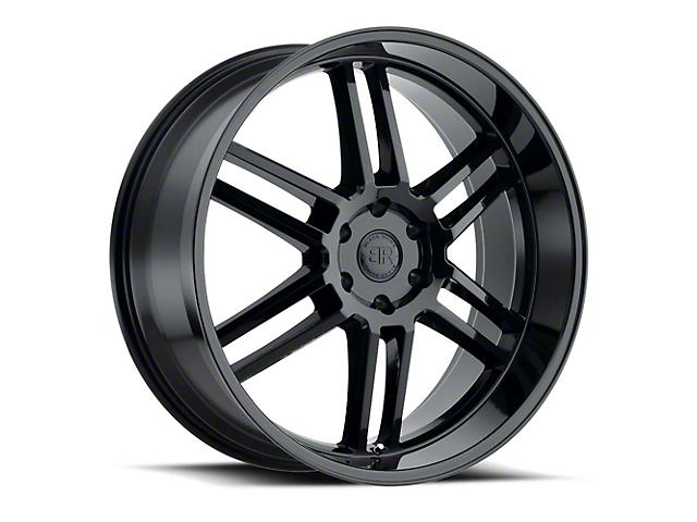 Black Rhino Katavi Gloss Black 6-Lug Wheel; 24x10; 20mm Offset (19-21 RAM 1500)