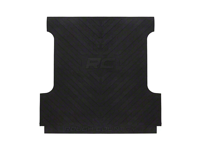 Rough Country Bed Mat with RC Logos (02-18 RAM 1500 w/ 6.4-Foot Box)