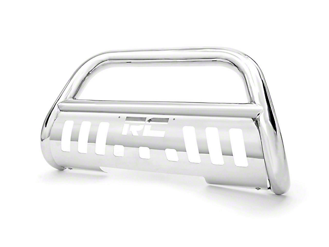 Rough Country Bull Bar; Stainless Steel (09-18 RAM 1500, Excluding Rebel)