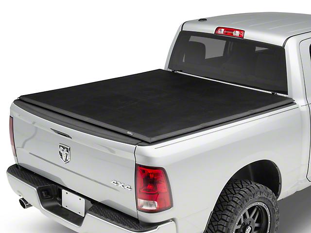 Rough Country Soft Tri-Fold Tonneau Cover (09-18 RAM 1500 w/ 5.7-Foot & 6.4-Foot Box & w/o RAM Box)