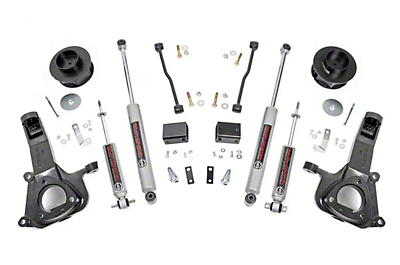 Rough Country 4 in. Suspension Lift Kit (09-18 2WD RAM 1500)